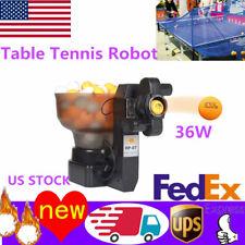 HP-07 Ping Pong Ball Automatic Training Machine Robot Table Tennis Robots 2019!!