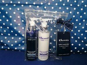 Elemis Wild Lavender Hand Wash Duo.