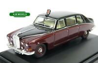 BNIB OO GAUGE OXFORD 1:76 76DS004 DAIMLER DS420 CLARET / BLACK QUEEN MUM