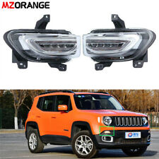 For Jeep Renegade 2015-2018 LED Daytime Running Signal Fog Light Driving Lamp