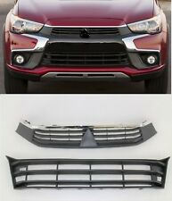 front bumper upper lower grille set for 16 - 17 Mitsubishi Outlander Sport RVR