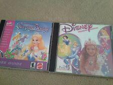 Barbie as Sleeping Beauty & Disney Princess Fashion Boutique CD-ROMs