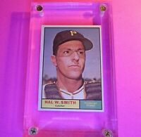 1961 Topps #242 Hal W Smith Pittsburgh Pirates SP NrMT NM High Grade