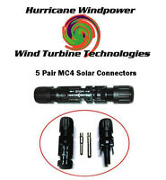 5 SETS 6MM MULTI-CONTACT MC4 BRAND PV CABLE CONNECTOR FOR SOLAR PANEL