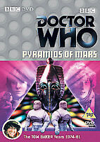 Doctor Who - Pyramids Of Mars (DVD, 2004)  Tom Baker is Dr. Who dispatch 24hrs