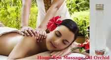 free ship OIL MASSAGE ORCHID FLOWERS HOME SPA BODY SKIN AROMATHERAPY 60 ml.