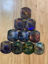10 pc Lot Ultra PRO Relic Token Life Counter Collection Foil x3