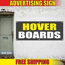 HOVER BOARDS Advertising Banner Vinyl Mesh Decal Sign GEAR EQUIPMENT SHOP STORE