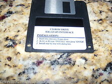 Ide/Atapi Interface (PC) Game MS-Dos 3.5 Inch Floppy Disk (Near Mint)