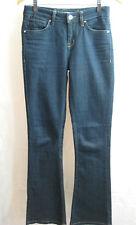 Karen Millen Size 8 Navy Blue Bootleg Jean