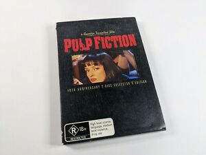 Pulp Fiction 10th Anniversary Collector's Edition DVD LIKE NEW Cult Action