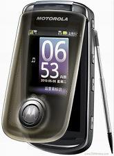 "Motorola A1680 3G WIFI 3.1"" 5MP GPS Radio English Language only Camera Bluetooth"