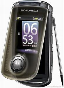 "Motorola A1680 3G WIFI 3.1"" 5MP Camera Bluetooth GPS Radio English Language only"