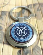 NEW YORK CITY FOOTBALL CLUB KEYCHAIN KEY RING NYC SOUVENIR
