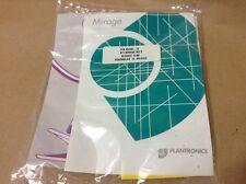 PLANTRONICS 25728-12 Voice Tube+Eyeglass Clip Kit for Mirage / StarSet / Supra