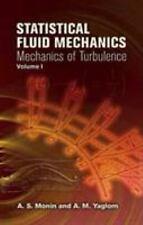 Dover Books on Physics: Statistical Fluid Mechanics Vol. 1 : Mechanics of...