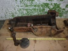 1937 Ford 2 Ton Truck V8 Flathead Engine Oil Pan Dip Stick Pump 1938 1939 Oem