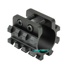 Tactical Tri Rail Mount For Mag Tubes Fits 12 Gauge Mossberg 500 590 835 Shotgun
