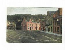 STREET & CROSS MELROSE POSTMARKED GALASHIELS 1904