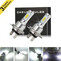 CREE 80W 4000LM H7 LED Headlight Kit Bulbs High-Low Beam Bulb 6500K Lamp White