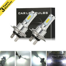CREE 80W 4000LM H7 LED Headlight Kit Bulbs High-Low Beam Bulb 6500K Lamp White