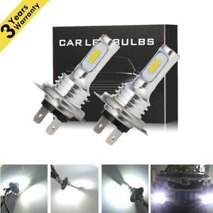 80W 8000LM H7 LED Headlight Kit Bulbs High-Low Beam Bulb 6500K Lamp White