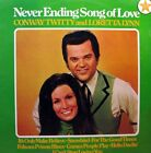 CONWAY TWITTY / LORETTA LYNN Never Ending Song Of Love LP