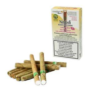 Nirdosh 1 Packung Kräuterzigaretten mit Filter, Methode zur Rauchentwöhnung