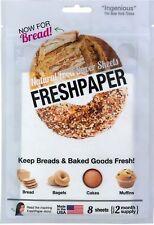 Fenugreen Fresh Paper Bread Saver Sheets, White
