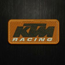 Parche bordado KTM logo Racing termoadesivo Motocross iron patch ktm racing