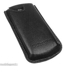Original Blackberry Estuche De Cuero Negro bolsillo bolsa bolsa Para Perla 8100 8110 8120 8130