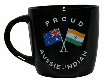 PROUD AUSSIE - INDIAN TEA COFFEE MUG AUSTRALIAN SOUVENIR GIFT INDIA BLACK