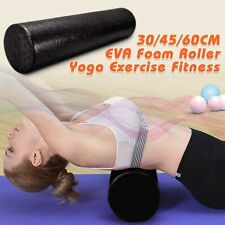 Yoga Block Foam Roller Fitness Equipment Pilates Body Building Workout Exercise-