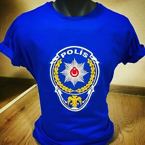 Türk Polis Tişört T-Shirt