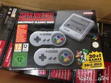 New Nintendo Mini SNES Console. European Version 2017.