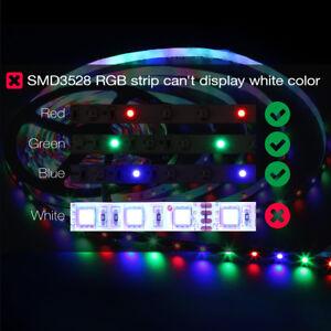 10Pcs 5M 300Leds RGB 3528 LED Strip Light Flexible 60Leds/M Lamp Non-Waterproof
