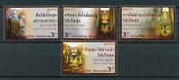 Thailand 2017 MNH Vesak Day Buddha 4v Set Buddhism Religion Stamps