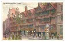 The old Houses, Holborn London. By Boots Chemists Year 1907 19th October