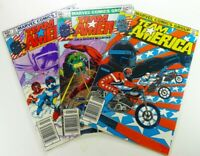 MARVEL Comics TEAM AMERICA (1982) #1-2 10 Bronze Age LOT Ships FREE!