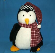 "Mervyns Large Hugsy Penguin 18"" Joey's Friend Mummford Debbie Mumm Plush Stuffed"