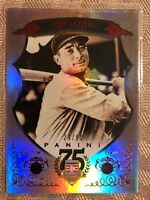 Tony Lazzeri 2014 Panini Hall Of Fame Silver Red Insert #D /50 New York Yankees