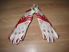 Vintage Reusch Size 8 1/2 Red/White Football/Soccer Goalkeeper Gloves/Free SH!