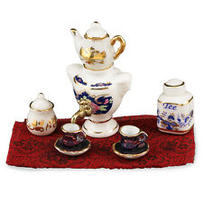 REUTTER PORZELLAN Samowar porcelaine Set Maison de poupée 1:12 ART 1.443/8