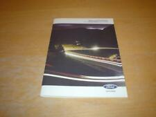 FORD SERVICE BOOK FUSION STYLE + TITANIUM TDCI ZETEC Owners Handbook Manual
