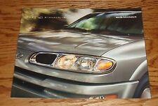 Original 2002 Oldsmobile Bravada Deluxe Sales Brochure 02