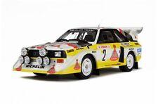 1:18 Otto Mobile Audi Sport Quattro S1 Rallye Monte Carlo 1986 Röhrl OT602B NEU