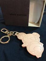 2006 LOUIS VUITTON Murakami Panda Limited Edition Brown Porte Cles Ct1004