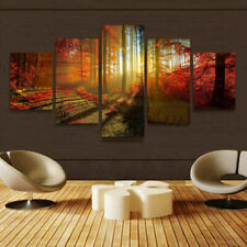 5pcs Modern Art Oil Painting Print Canvas Picture Home Room Wall Decor Unframed