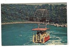 SPANISH AEROCAR Whirlpool Rapids Niagara Falls Air Cable Car Canada Postcard
