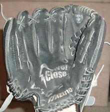 "Mizuno Prospect youth black/gray leather lefty baseball glove Gpp 1051, 10.5"""